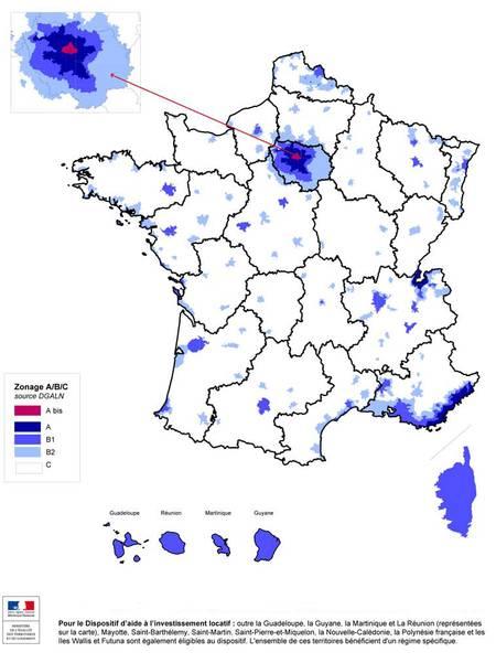 Liste Villes France Zone Tendue