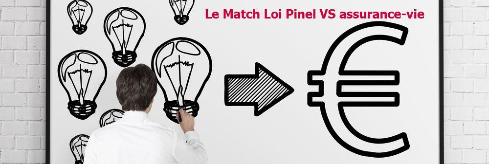 Le match Assurance-vie et Loi Pinel